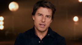 Tom Cruise jumps into zero gravity with 'The Mummy'