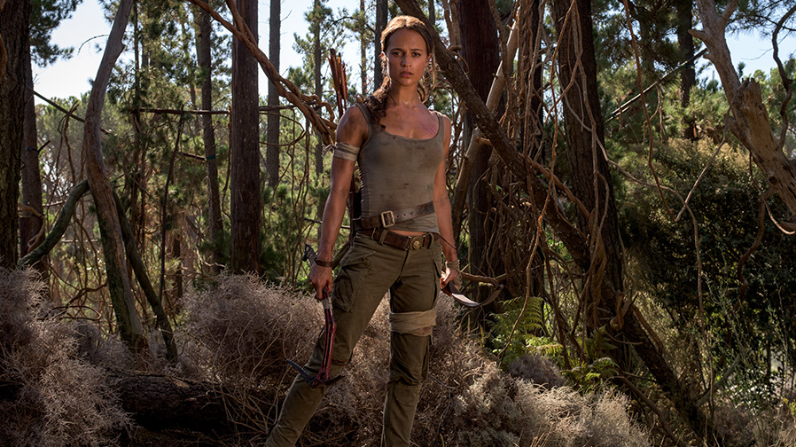 Here's your first look at Alicia Vikander in 'Tomb Raider'