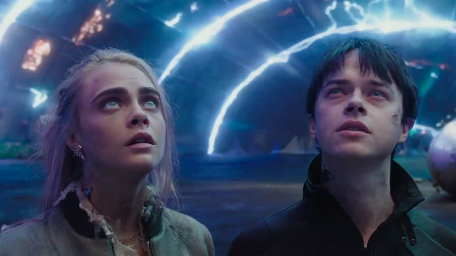 Travel across the universe in the brand new trailer for 'Valerian and the City of a Thousand Planets'