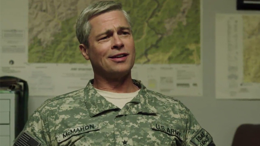 Brad Pitt is the boss in first teaser for 'War Machine'