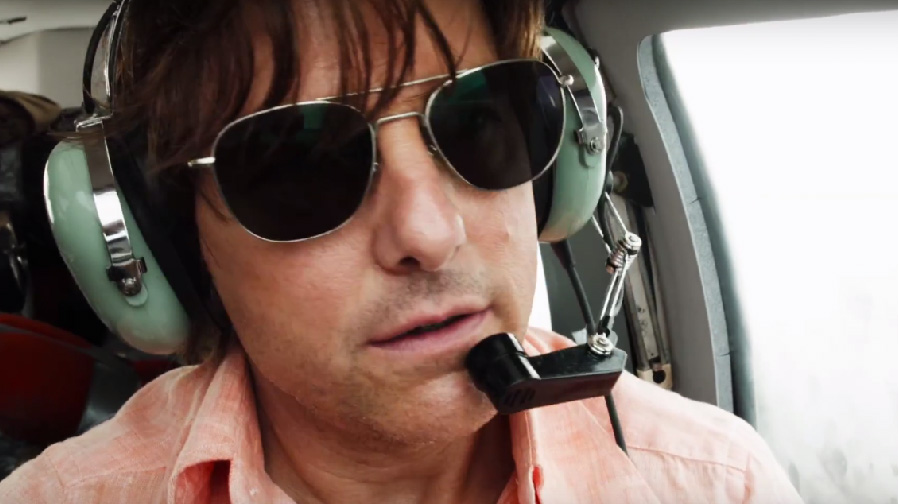 Tom Cruise reaches for the sky in 'American Made'