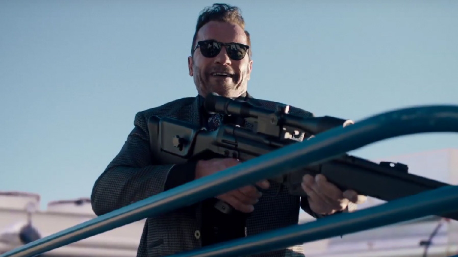 Arnold Schwarzenegger goes nuts in 'Killing Gunther'