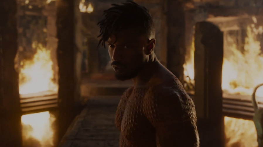 Black Panther Top 5 Trailer Moments Killmonger SpicyPulp
