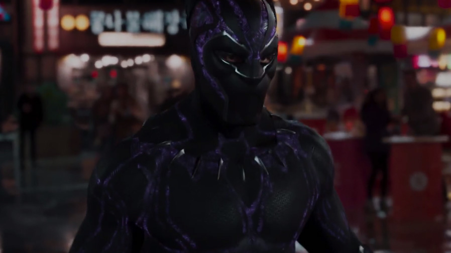 The King is here in new trailer for 'Black Panther'