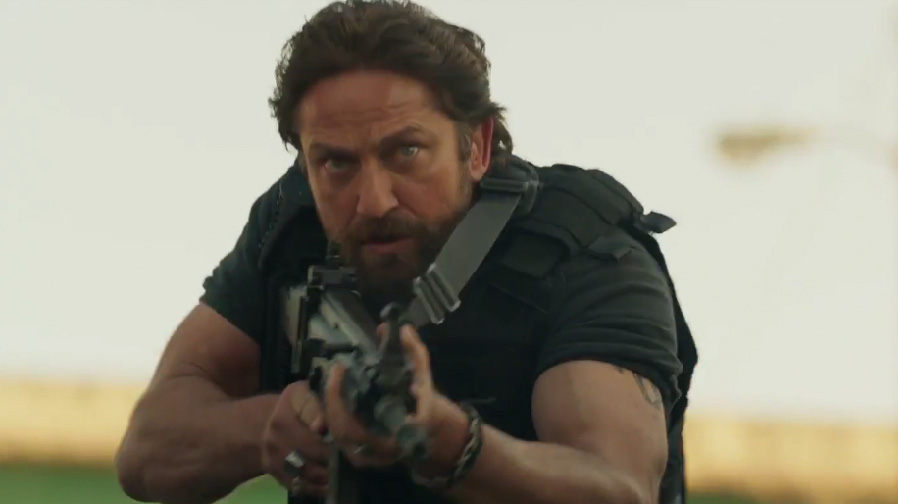 Gerard Butler cranks up the action with 'Den of Thieves'