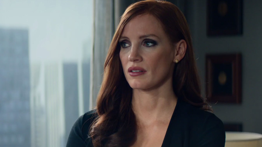 Jessica Chastain goes all in for 'Molly's Game'