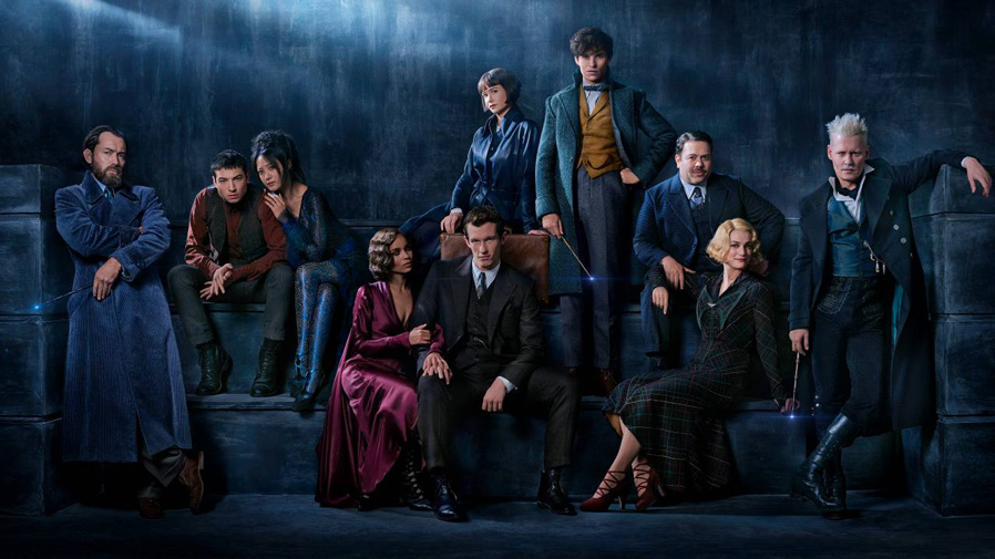 Get your first look at 'Fantastic Beasts: The Crimes Of Grindelwald'