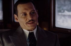 Murder on the Orient Express Johnny Depp Spots SpicyPulp