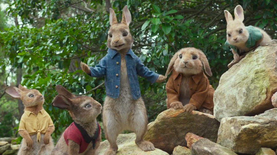 It's good being a rabbit in new trailer for 'Peter Rabbit'