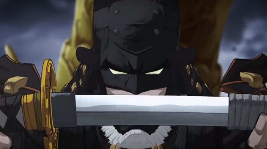 Check out the insane first trailer for 'Batman: Ninja'