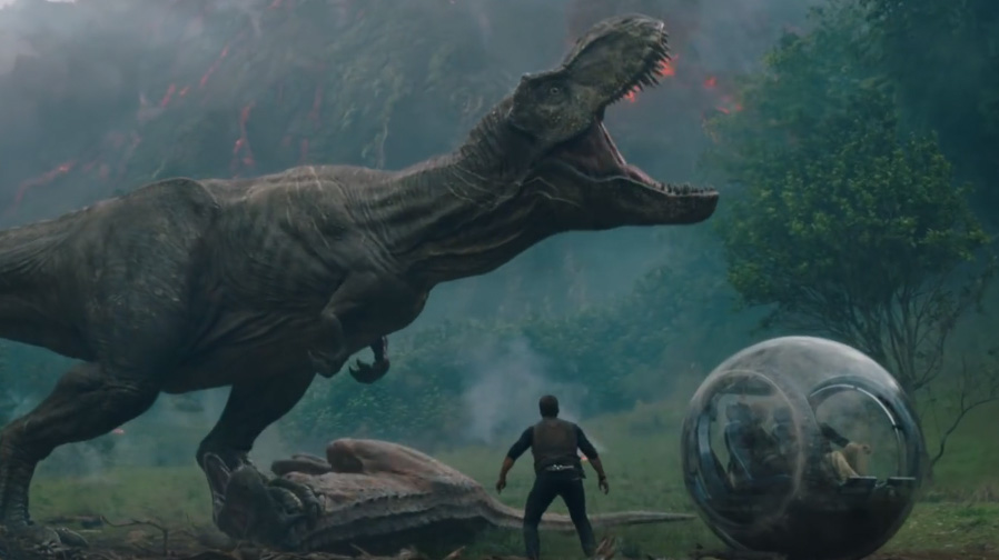 The first trailer for 'Jurassic World: Fallen Kingdom' is here