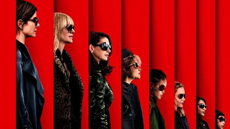 The con is on with 'Ocean's 8'