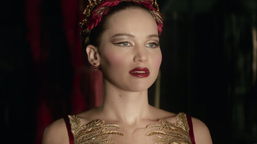 Jennifer Lawrence is a dangerous creature in 'Red Sparrow'