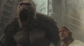 Dwayne Johnson is all about the size in new 'Rampage' trailer