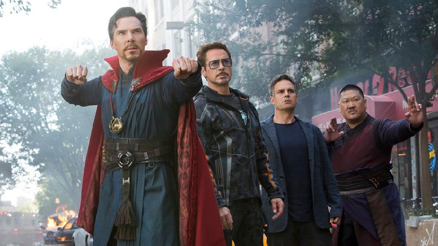 Step into the battle for earth with new images for 'Avengers: Infinity War'