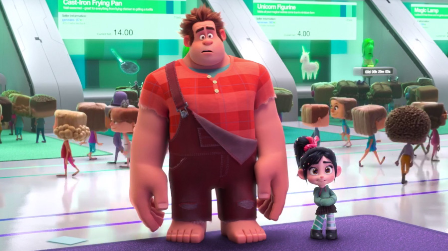 Ralph is about to go online in 'Ralph Breaks The Internet: Wreck-It Ralph 2'