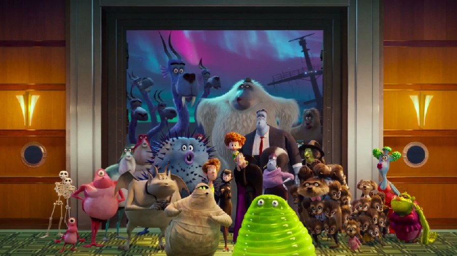 Get ready for some R&R with 'Hotel Transylvania 3: Monster Vacation'