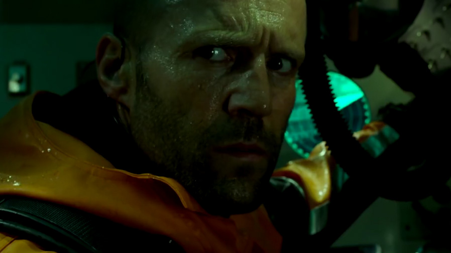 Jason Statham goes shark hunting in 'The Meg'