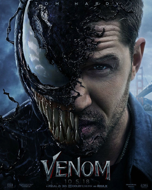 Venom Poster Official Tom Hardy