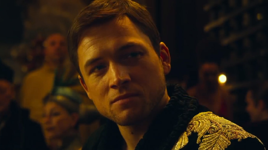 Taron Egerton jumps into the action of 'Robin Hood' in first teaser
