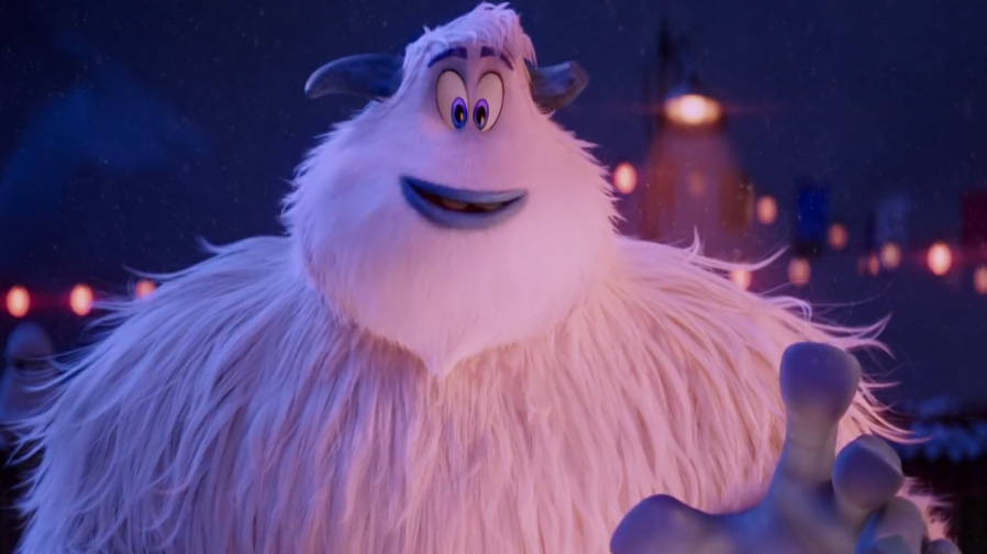 Get ready for a snowy adventure in 'Smallfoot'