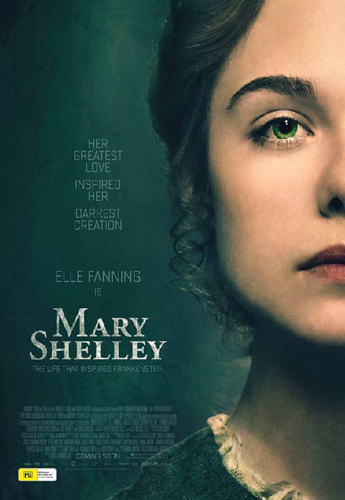 Mary Shelley Poster SpicyPulp