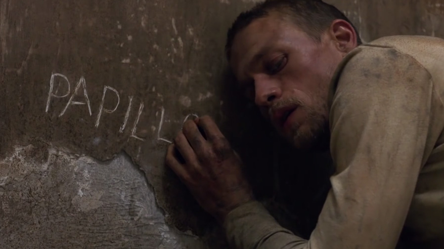 Charlie Hunnam falls into hell in 'Papillon' trailer