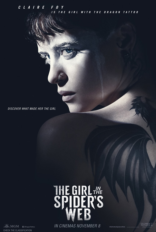 The Girl In The Spiders Web Poster SpicyPulp