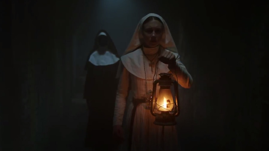 Get ready to scream with the first look at 'The Nun'