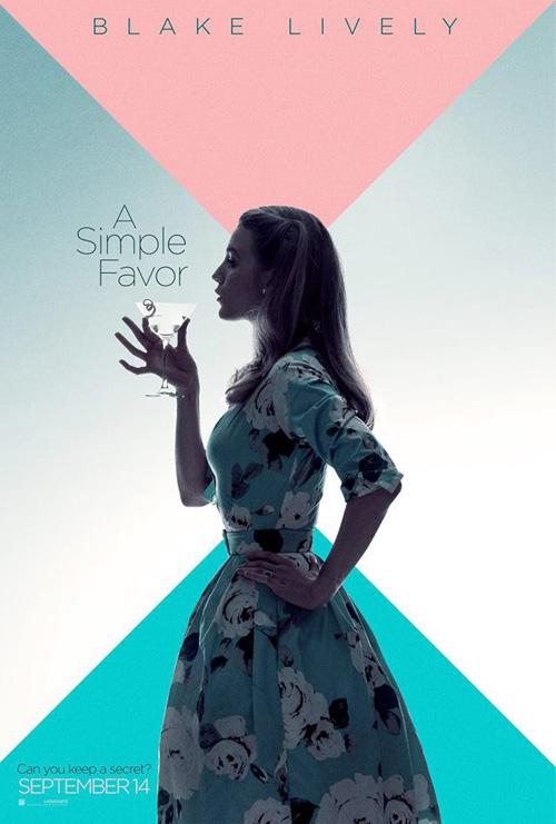 A Simple Favor Poster SpicyPulp