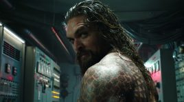 All hail the King in the brand new trailer for 'Aquaman'