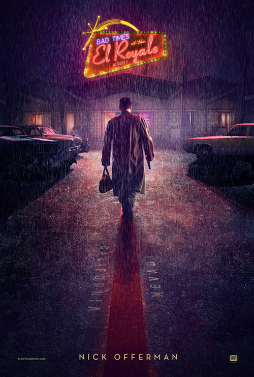 Bad Times At The El Royale Poster SpicyPulp
