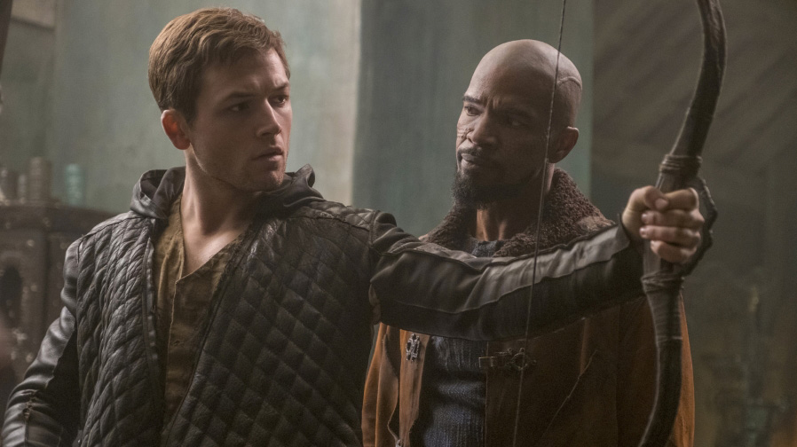 Taron Egerton unleashes anarchy in new 'Robin Hood' trailer