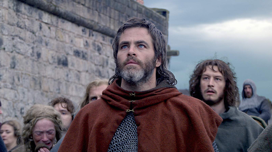 Chris Pine is ready to rise up in first trailer for 'Outlaw King'