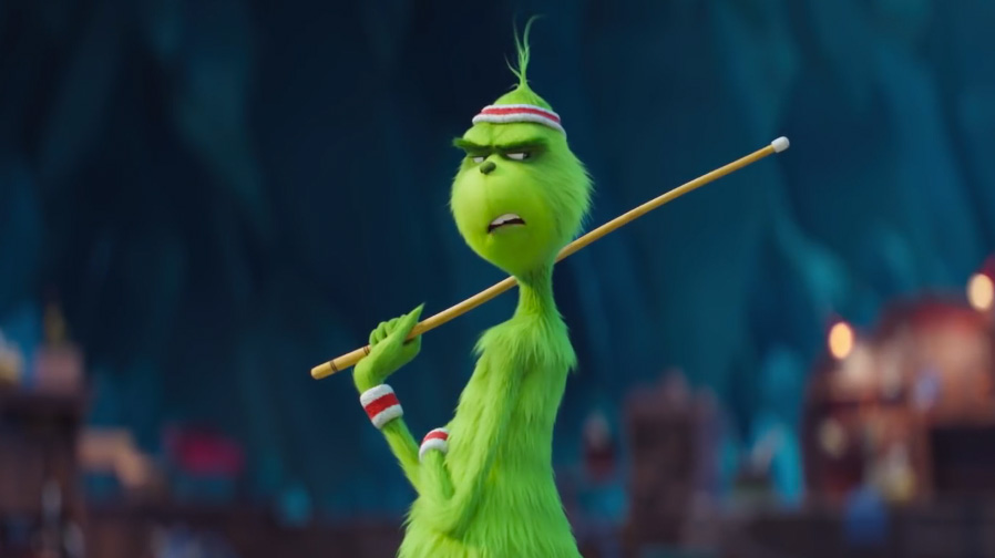 Celebrate the holidays with the new trailer for 'The Grinch'