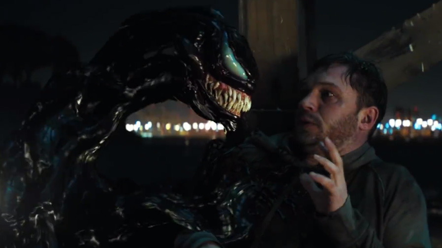 Tom Hardy becomes a monster in new Venom trailer