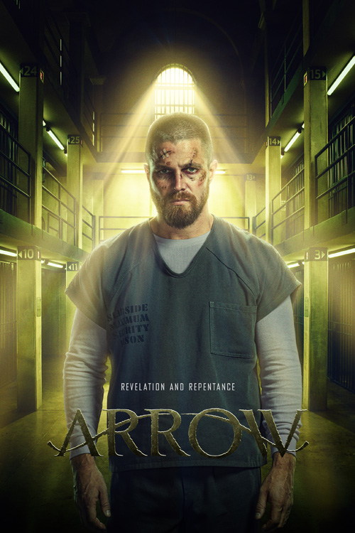 Arrow New Look Poster SpicyPulp