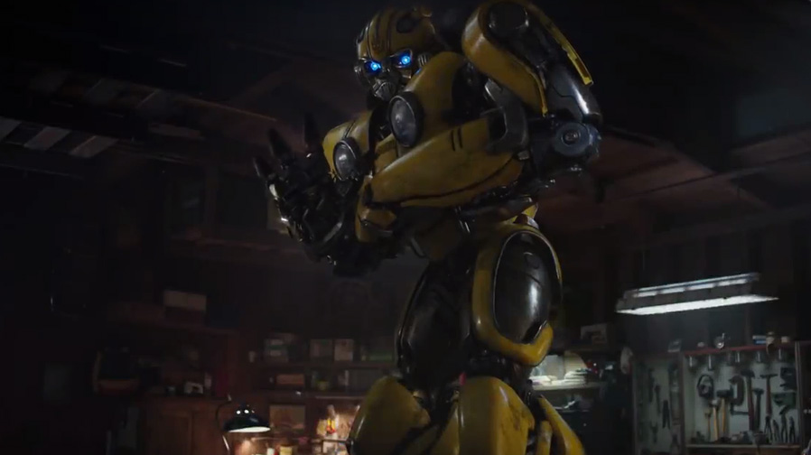 A hero finds his start in new trailer for 'Bumblebee'