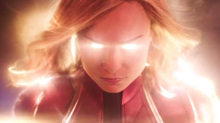 The first trailer for 'Captain Marvel' is here