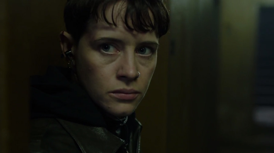 Claire Foy embraces the darkness in 'The Girl In The Spider's Web