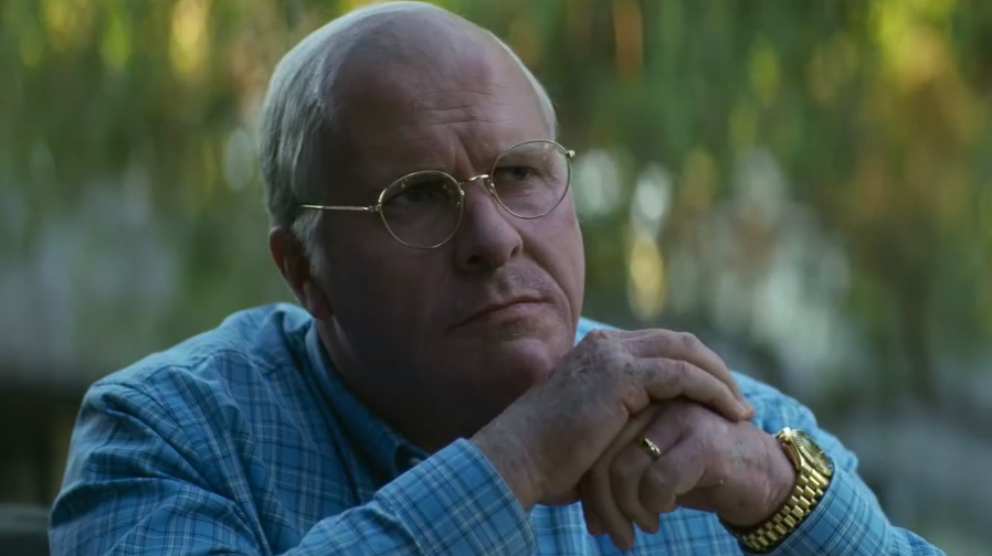 Christian Bale has transformed for 'Vice'