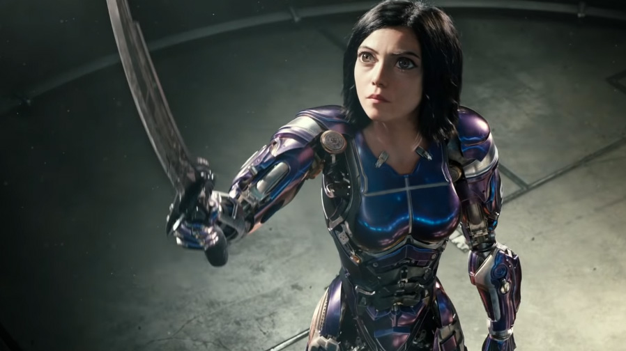 Brace yourselves for the epic new trailer for 'Alita: Battle Angel'