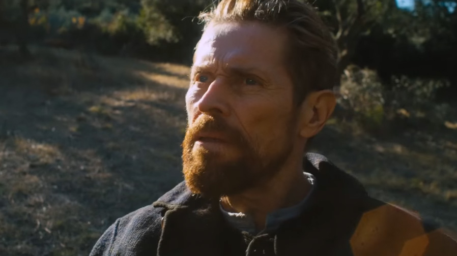 Willem Dafoe gives a tour de force performance in 'At Eternity's Gate'