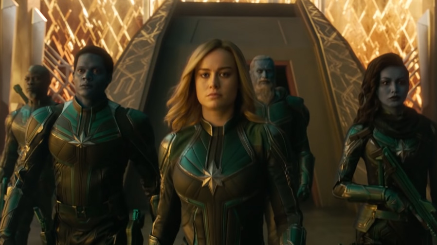 Captain Marvel Top 5 Trailer Moments SpicyPulp
