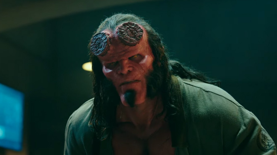 Brace yourselves for a heavy metal ride with the first trailer for 'Hellboy'