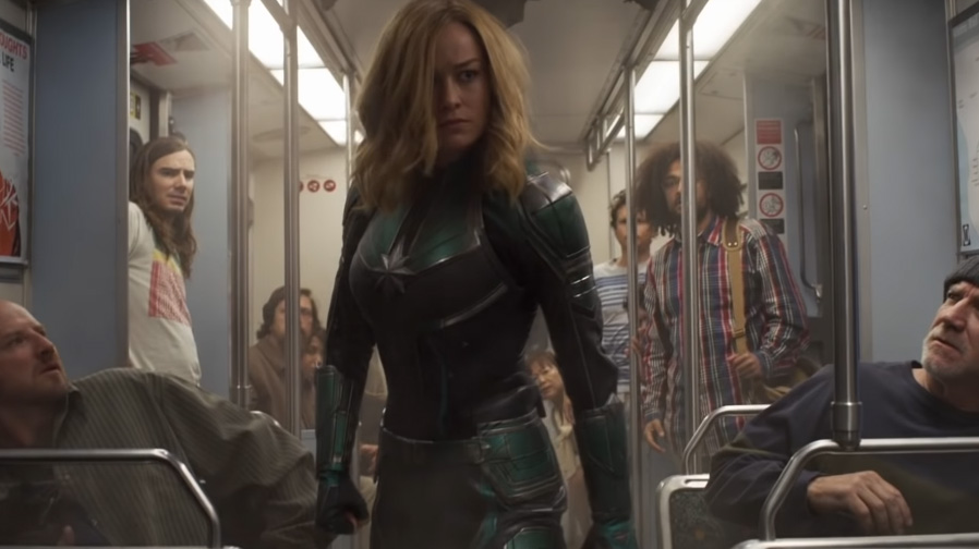 Start the New Year right with a brand new spot for 'Captain Marvel'