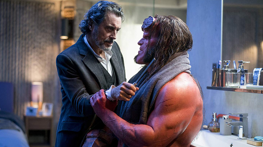 David Harbour and Ian McShane make appearance in new 'Hellboy' image