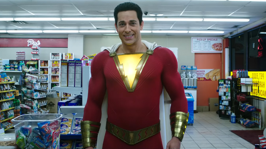 The fun arrives in new spot for 'Shazam'