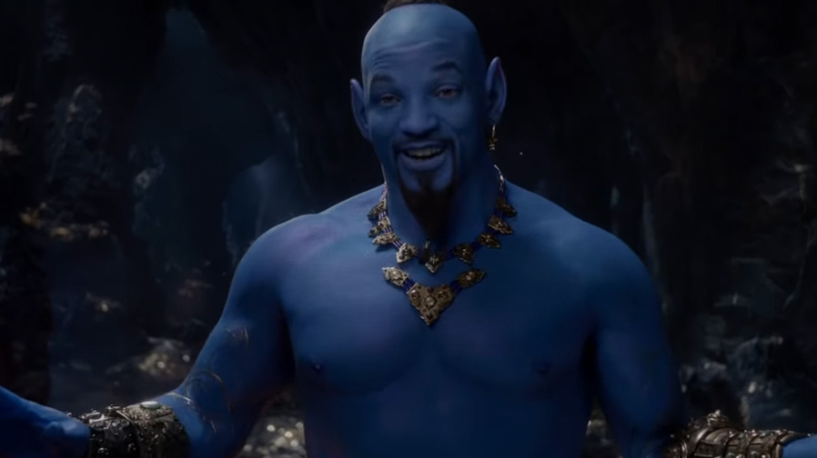 Will Smith steps out as The Genie in 'Aladdin'