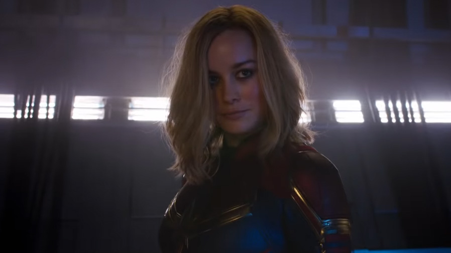 Brie Larson rushes through the cosmos in new 'Captain Marvel' spot